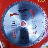 Диск пильный Craft для ламината,дсп,мдф 190x30/20 , 72 зубa