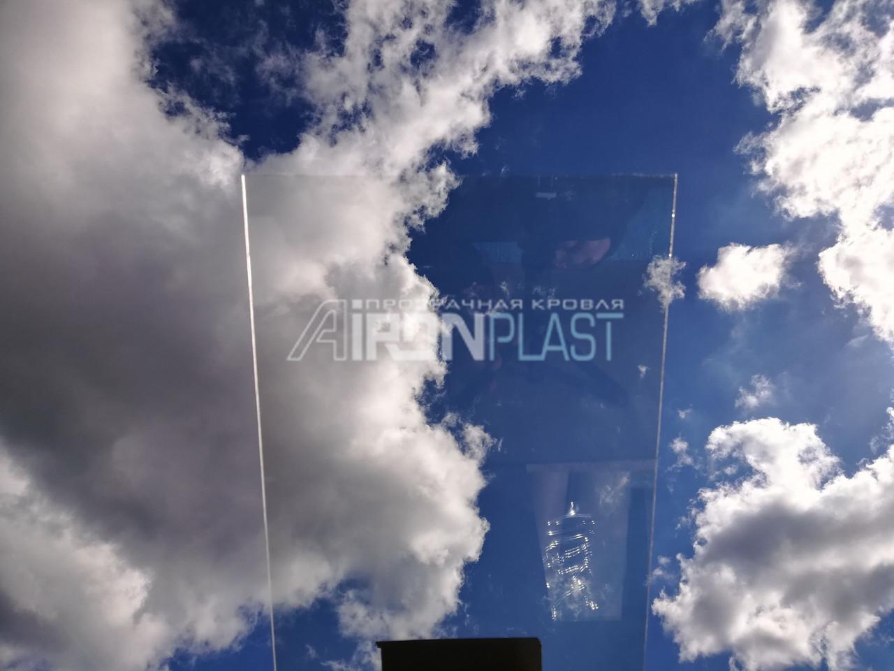 Монолитный поликарбонат CARBOGLASS 12 мм прозрачный