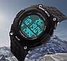 Спортивные мужские часы Skmei Fitness 1112 Черные с шагомером, фото 7