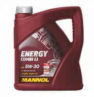 Моторное синтетическое масло Mannol (Манол) Energy Combi LL 5w30 4л.