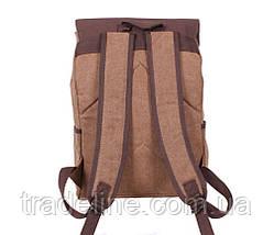 Рюкзак мужской Dovhani 6075-21COFFEE Коричневый, фото 2