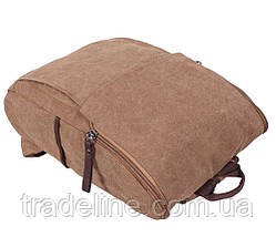 Рюкзак мужской Dovhani 8154-28COFFEE Коричневый, фото 3