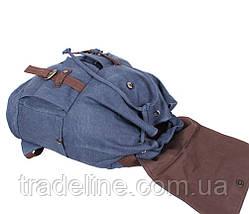 Рюкзак мужской Dovhani 8634-347BLUE Синий, фото 2