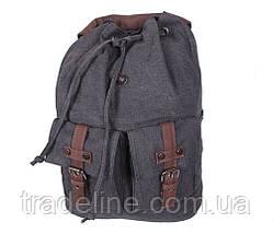 Рюкзак мужской Dovhani 8634-118BLACK Черный, фото 3