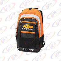 Мото рюкзак KTM с гидратором, черно-оранжевый