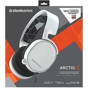 Гарнитура SteelSeries Arctis 3 2019 Edition White (61506), фото 2