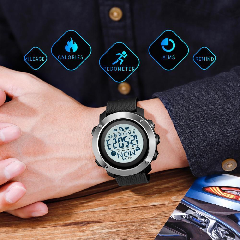 Skmei 1511 Music Controll  черные мужские часы SMART