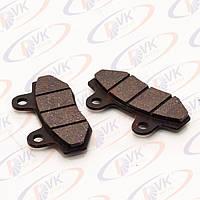 Тормозные колодки на скутер GY6 50-150 сс (дисковый тормоз)