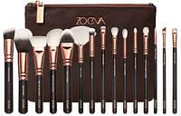 Набор кистей ZOEVA Rose Golden Complete Set Vol люксовая копия