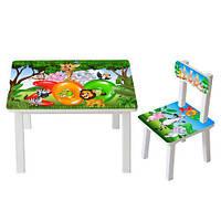 Столик детский  BSM2K-33 зоопарк