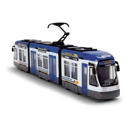 """Городской трамвай """"City Liner"""", 46 см (синий) «Dickie Toys» (3749017)"""