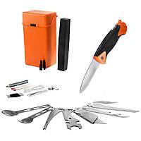 Набор для выживания MFH Special в оранжевой коробке 27 предметов, фото 1