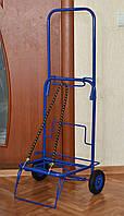 Тележка (кравчучка), цельнометаллическая, высота 90 см + резинка с двумя крючками 1м., фото 1