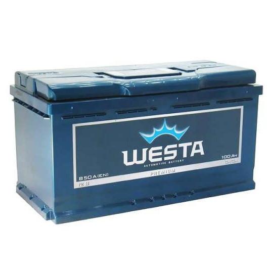 Аккумулятор автомобильный 6СТ-100Ач. 850A. WESTA