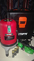 Лазерный нивелир Stark LL 0501G зеленый луч, две линии, 15 м