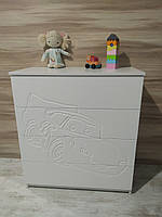 Комод в дитячу кімнату АВТО, комод для іграшок, тумба дитяча