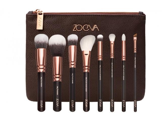 Набор кистей Zoeva ROSE GOLDEN Luxury Set копия