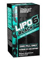 Жиросжигатель Nutrex Lipo-6 Black Hers Ultra Concentrate 60 капс
