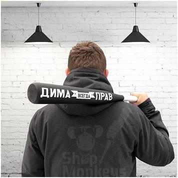 Бита «Дима всегда прав»