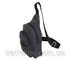 Сумка мини-рюкзак мужская Nobol 011BLACK Черная, фото 3