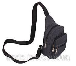 Сумка мини-рюкзак мужская Nobol 011BLACK Черная, фото 2