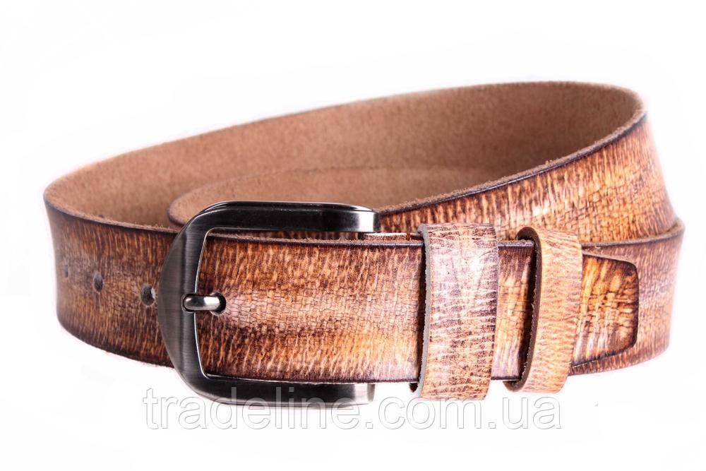 Мужской кожаный ремень Dovhani MX30526969 115-125 см Коричневый