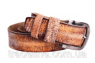 Мужской кожаный ремень Dovhani MX30526969 115-125 см Коричневый, фото 2