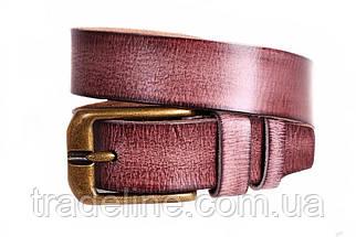 Мужской кожаный ремень Dovhani MX30528383 115-125 см Бордовый, фото 2