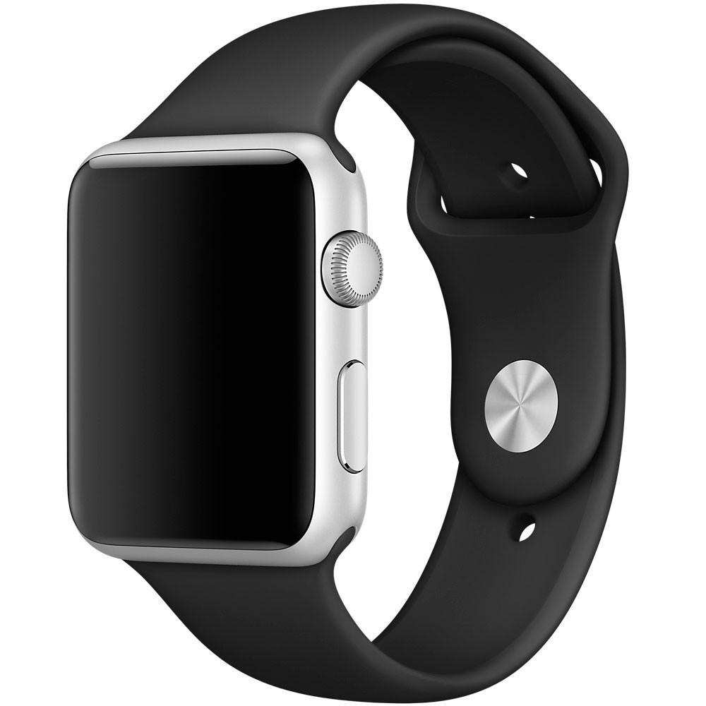 Ремінець Apple Sport Watch Band 42/44M (black)