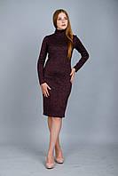 Платье ангора  трикотажное от бренда Adele Leroy.