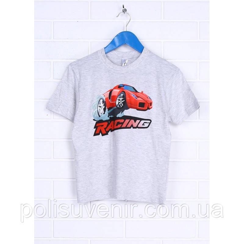 Класична дитяча футболка з коротким рукавом