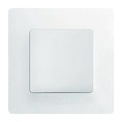 ETIKA Выключатель 1-клавишный, Белый