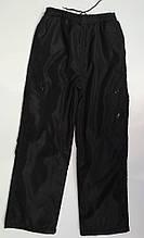 Штани на хлопчика з плащової тканини на флісі арт 3566 розміри L,XL, xxl,3XL.