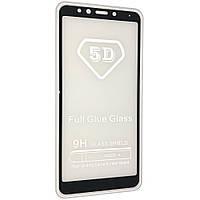 Стекло 5D для Xiaomi Redmi 5 Черный