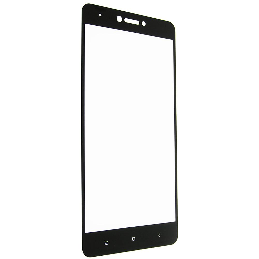 Защитное стекло 5D full glue для XIAOMI Redmi Note 4X - черный
