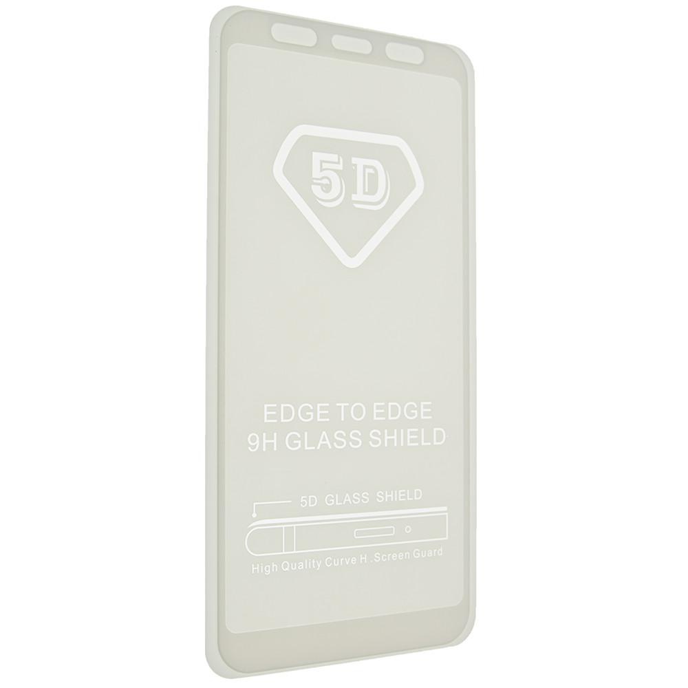 Защитное стекло 5D full glue для XIAOMI Mi A2 - белый