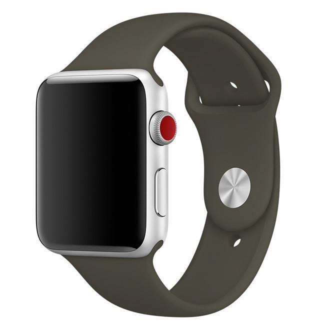 Ремінець Apple Sport Watch Band (dark olive) 38/40M
