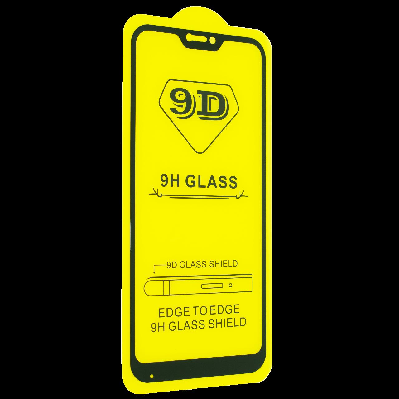 Защитное стекло 9D для XIAOMI REDMI 6 PRO - черный