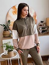 Женский спортивный трикотажный костюм 42-50 р, фото 3
