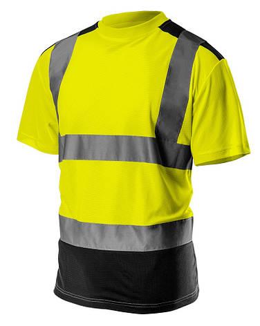 Футболка сигнальная NEO 81-730 желтая, фото 2