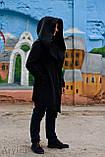 Теплая мантия флис женская, кардиган, кофта, накидка от производителя, фото 3