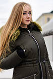 Женская парка куртка на меху (зимняя), фото 10