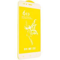 Защитное стекло Premium 6D для Xiaomi Redmi 5X/A1 Белый