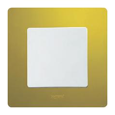 ETIKA Проходной выключатель 1-клавишный, Белый