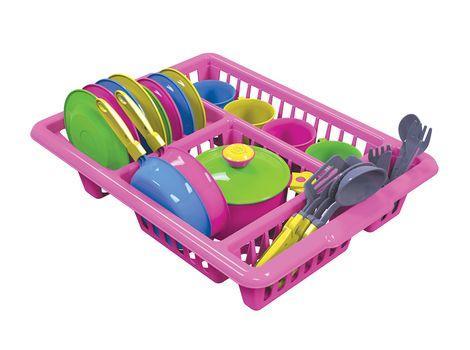 Кухонный набор 5 ТехноК (розовый)  sco