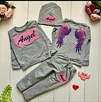 Красивый костюм на девочку Angel- Ангел