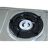 Газовая плита на 2 турбо конфорки Rainberg G-02, фото 5