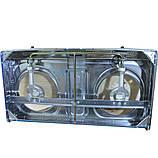Газовая плита на 2 турбо конфорки Rainberg G-02, фото 6