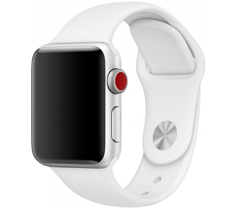 Ремінець Apple Sport Watch Band (white) 42/44M
