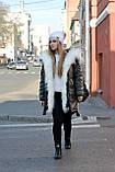 Зимняя женская куртка парка на меху (лама), фото 2